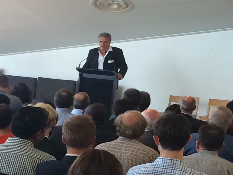 Auckland lawyer Ian Mellett